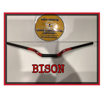Guidon BISON rouge