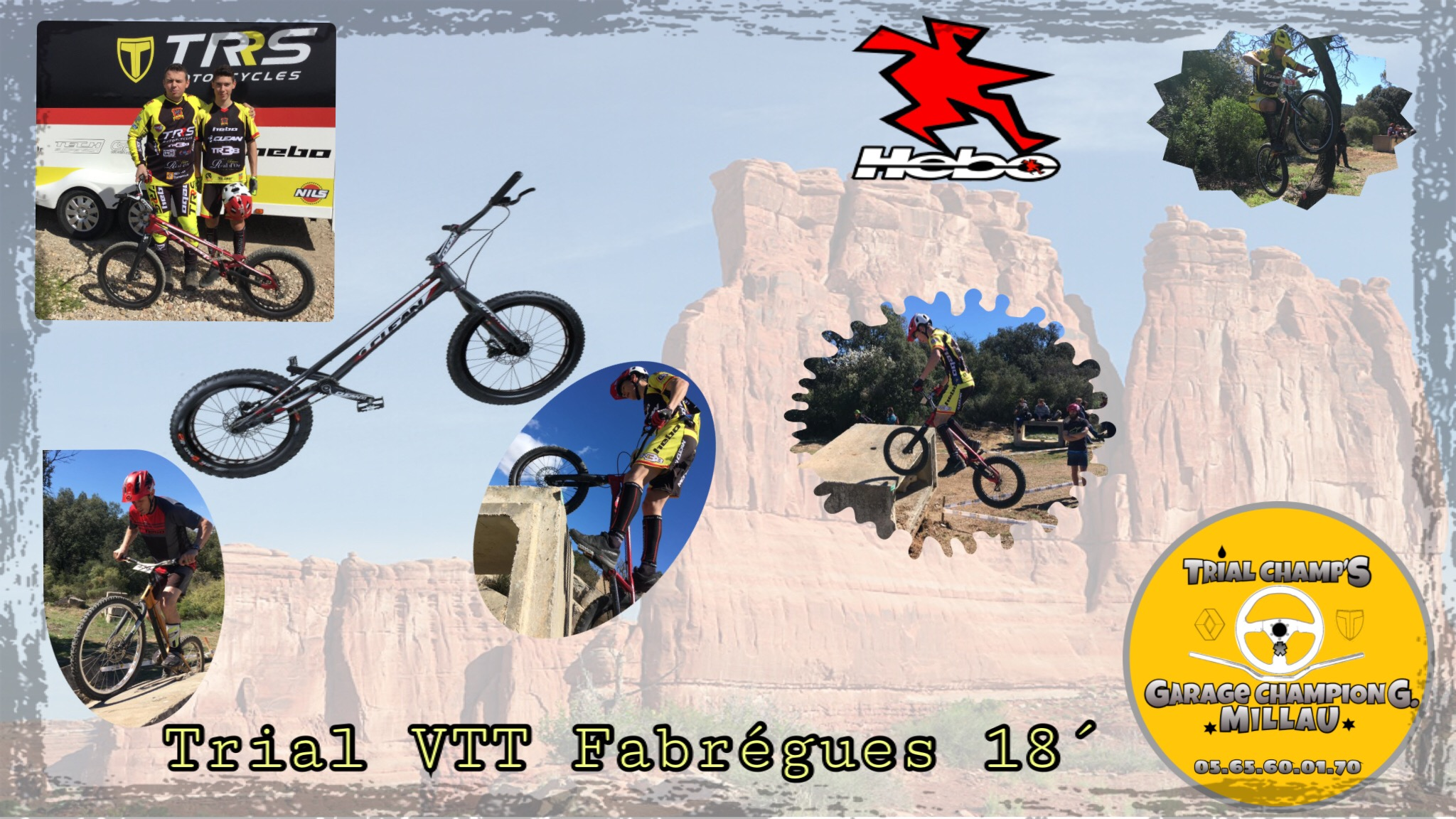 Trial VTT coupe grand Sud