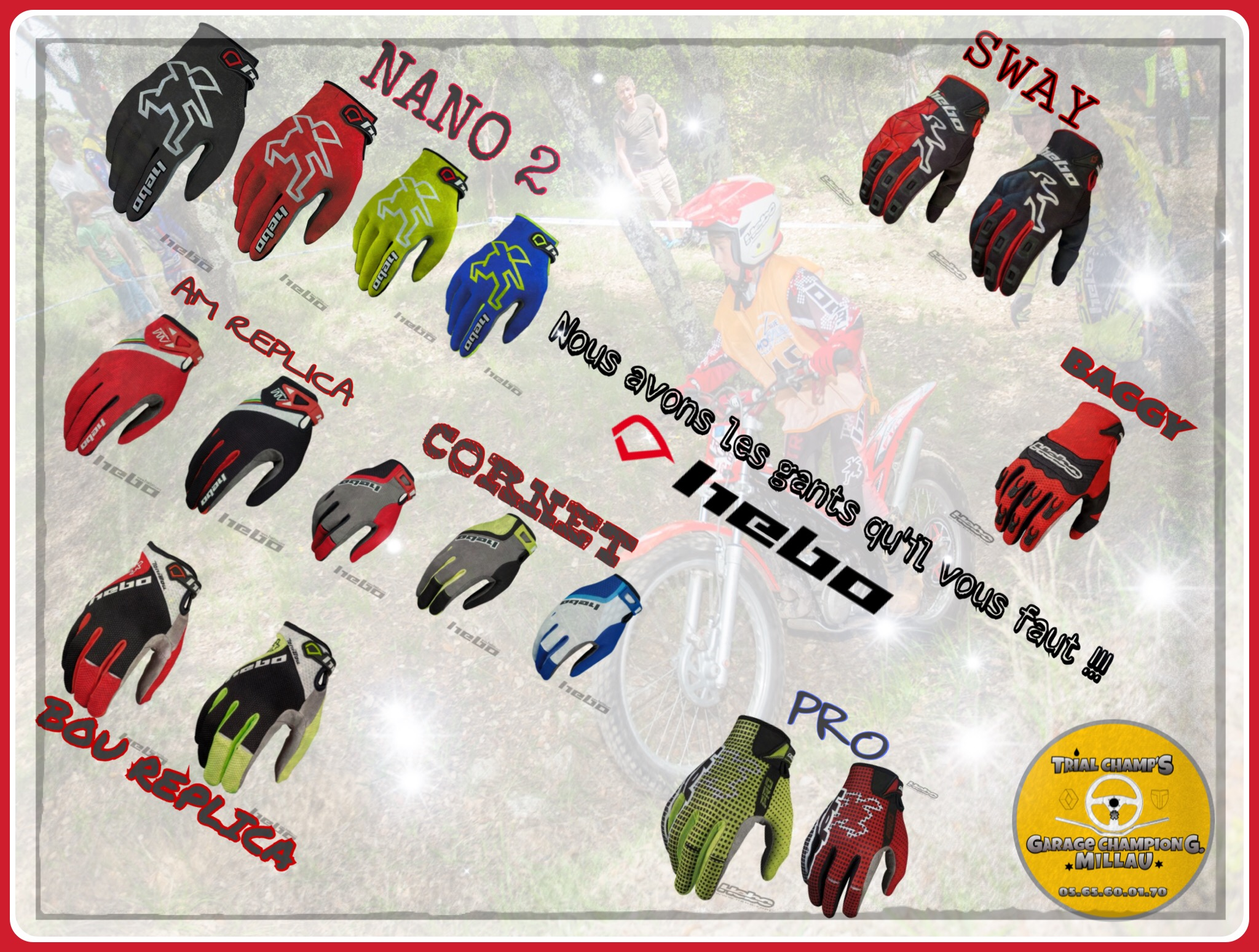 Collection Gants